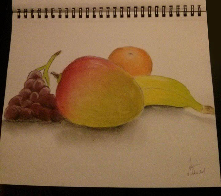pastel-charcoal_fruits
